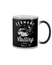 GERMANY IS CALLING Color Changing Mug thumbnail