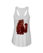 bear boxing Ladies Flowy Tank thumbnail