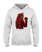 bear boxing Hooded Sweatshirt thumbnail