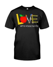Love Pre K Classic T-Shirt front