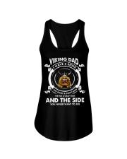 Viking dad Ladies Flowy Tank thumbnail