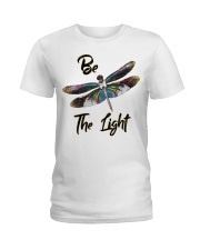 Be the light Ladies T-Shirt front