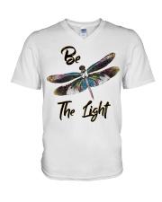 Be the light V-Neck T-Shirt thumbnail