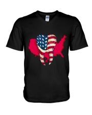 Dentist america V-Neck T-Shirt thumbnail