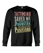 Tattooing saved me Crewneck Sweatshirt thumbnail