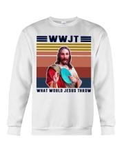 What would Jesus throw Crewneck Sweatshirt thumbnail