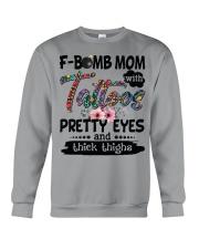 F bomb mom Crewneck Sweatshirt thumbnail