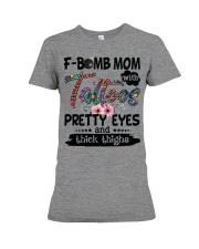 F bomb mom Premium Fit Ladies Tee thumbnail