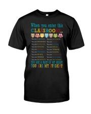 Classroom Classic T-Shirt front