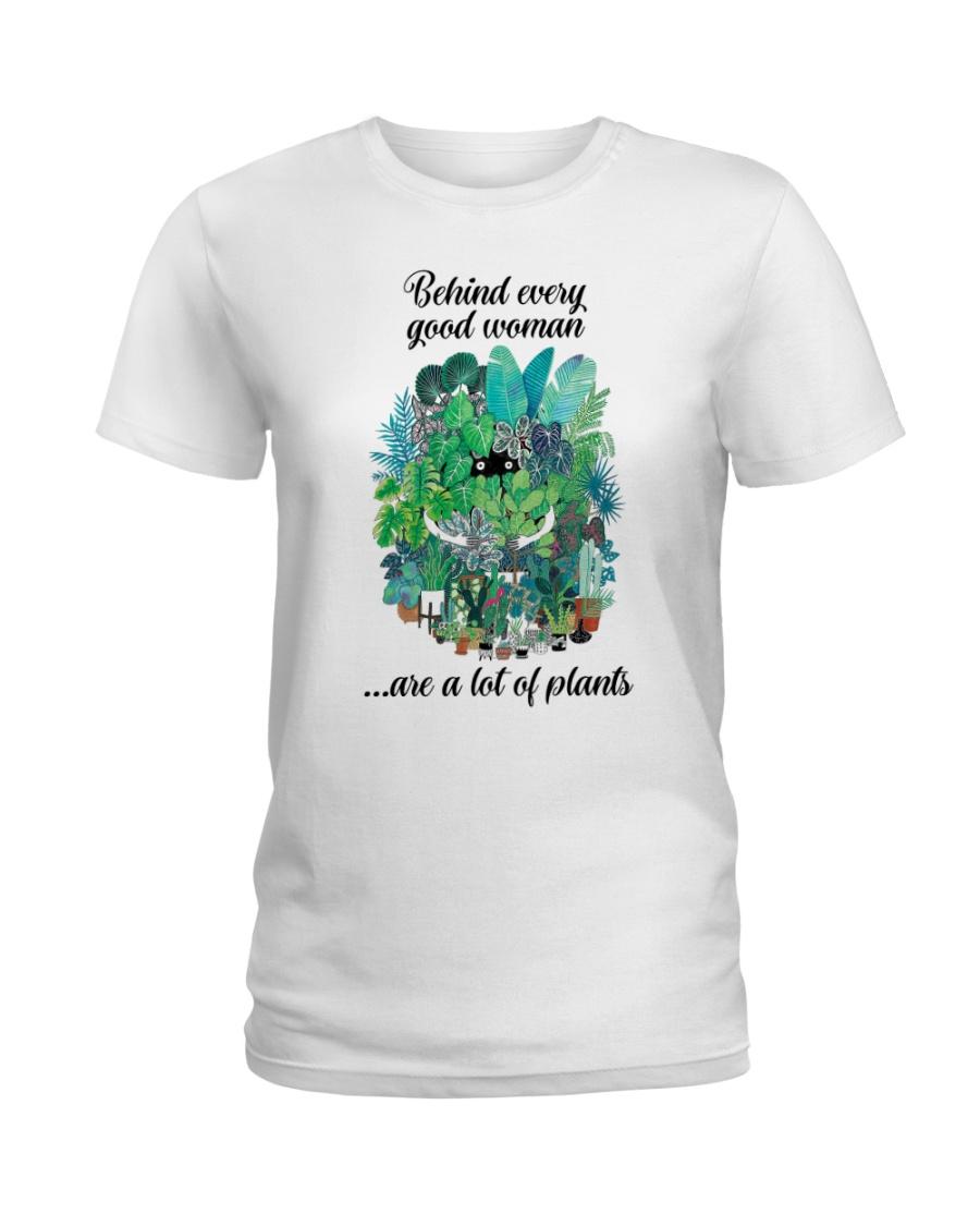 Behind woman Ladies T-Shirt