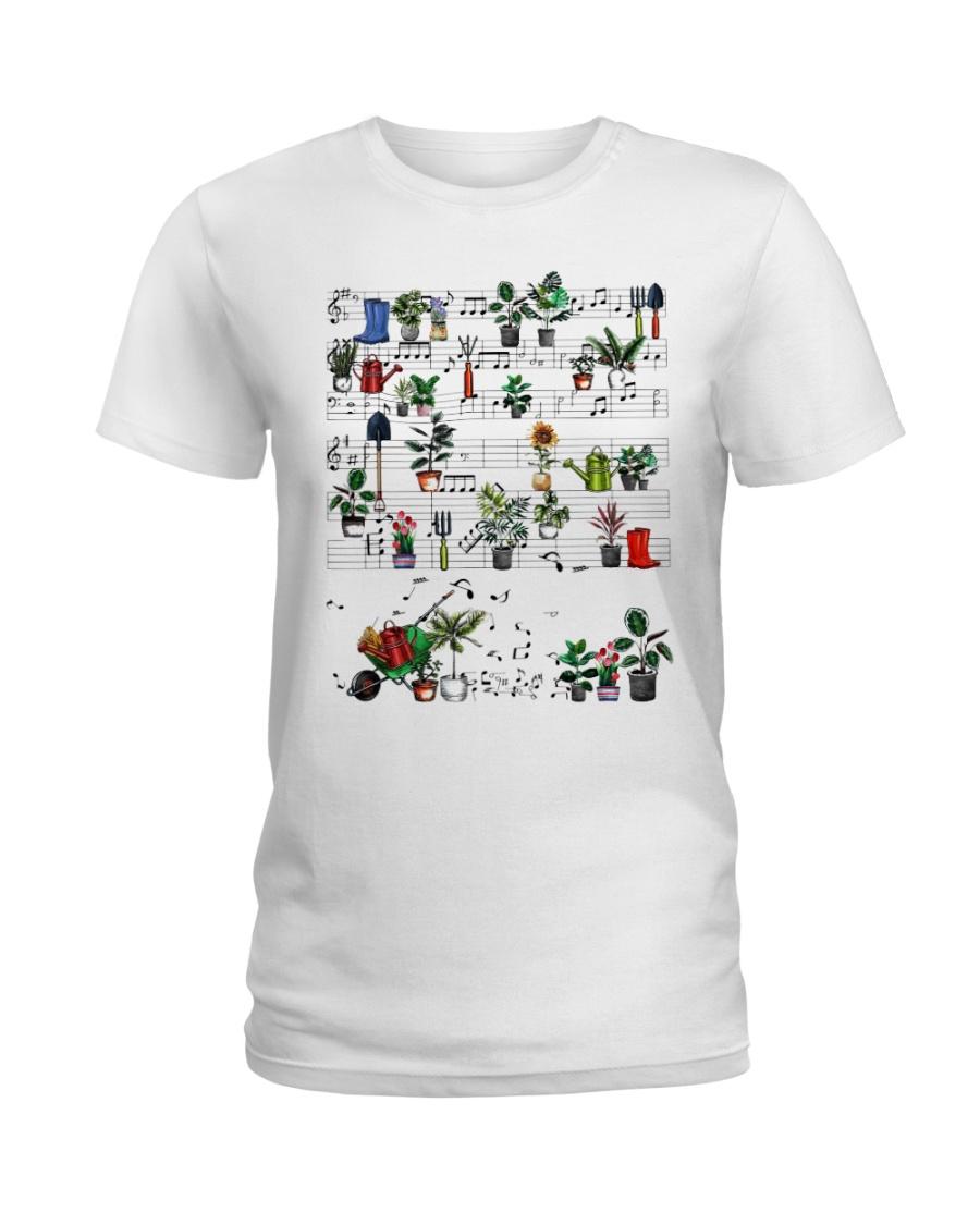 Garden music Ladies T-Shirt