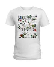 Garden music Ladies T-Shirt front