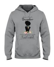 Queen are born in December Hooded Sweatshirt thumbnail