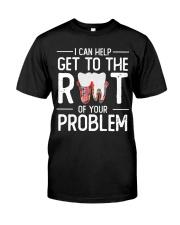 Teeth problem Classic T-Shirt front