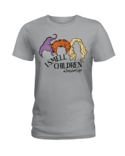 I smell children Ladies T-Shirt thumbnail
