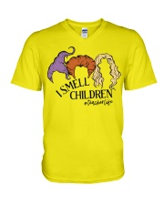 I smell children V-Neck T-Shirt thumbnail