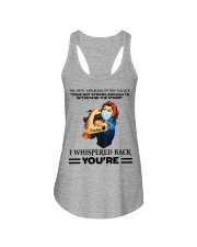 Teacher strong Ladies Flowy Tank thumbnail