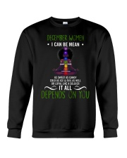 December woman Crewneck Sweatshirt thumbnail