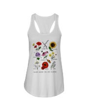 Bloom where you are planted Ladies Flowy Tank thumbnail