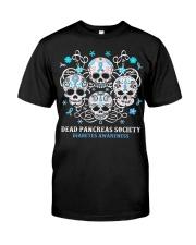 Diabetes skull Classic T-Shirt front