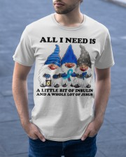 All i need is insulin Classic T-Shirt apparel-classic-tshirt-lifestyle-front-46