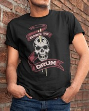 Born to drum Classic T-Shirt apparel-classic-tshirt-lifestyle-26