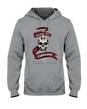 Born to drum Hooded Sweatshirt thumbnail