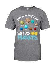 We had nine planets Classic T-Shirt tile