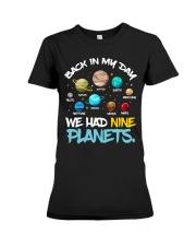 We had nine planets Premium Fit Ladies Tee thumbnail