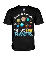 We had nine planets V-Neck T-Shirt thumbnail