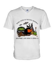 Witch V-Neck T-Shirt thumbnail