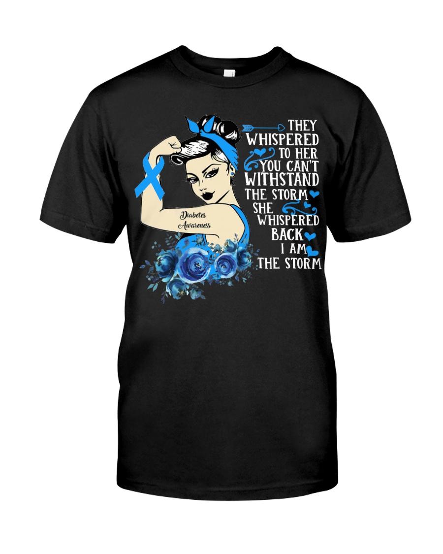Diabetes Awareness girl Classic T-Shirt