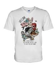 Vegan V-Neck T-Shirt thumbnail