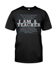 I am a teacher Premium Fit Mens Tee thumbnail