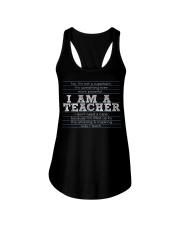 I am a teacher Ladies Flowy Tank thumbnail
