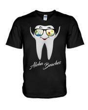 Teeth aloha V-Neck T-Shirt thumbnail