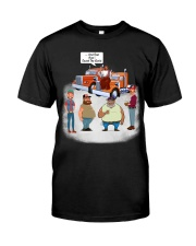 And that how i saved the world Premium Fit Mens Tee thumbnail