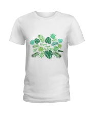 All you need is leaf Ladies T-Shirt front