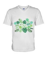 All you need is leaf V-Neck T-Shirt thumbnail