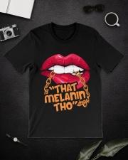 That melanin Classic T-Shirt lifestyle-mens-crewneck-front-16