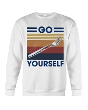 Go fork yourself Crewneck Sweatshirt thumbnail