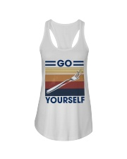 Go fork yourself Ladies Flowy Tank thumbnail