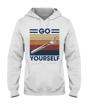 Go fork yourself Hooded Sweatshirt thumbnail