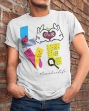 Love Preschool teacher Classic T-Shirt apparel-classic-tshirt-lifestyle-26