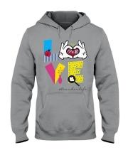 Love Preschool teacher Hooded Sweatshirt thumbnail