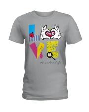 Love Preschool teacher Ladies T-Shirt thumbnail