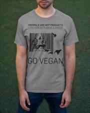 Go vegan Classic T-Shirt apparel-classic-tshirt-lifestyle-front-42