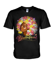 Blacknificent V-Neck T-Shirt thumbnail