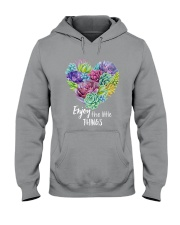 Enjoy the little thing Hooded Sweatshirt thumbnail