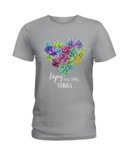 Enjoy the little thing Ladies T-Shirt tile